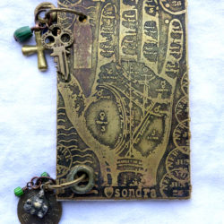 Etched Metal Book with Sondra Barrington