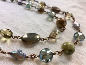 Gemstone & Pearl Necklace (Jewelry Basics: Wire) with Sondra Barrington