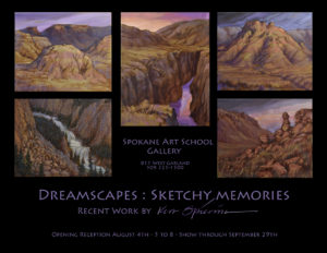 Dreamscapes : Sketchy Memories - Ken Spiering