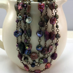 Gemstone Necklace with Sondra Barrington