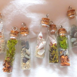 Nature Vial Necklace with Sondra Barrington