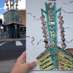 Garland Sketch Crawl with Megan Perkins