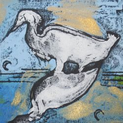 Printing with Non-traditional Printmaking Techniques with Karen Mobley
