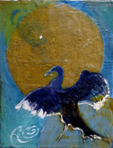Introduction to Encaustic - Hot wax and hot color with Karen Mobley-SOLD OUT
