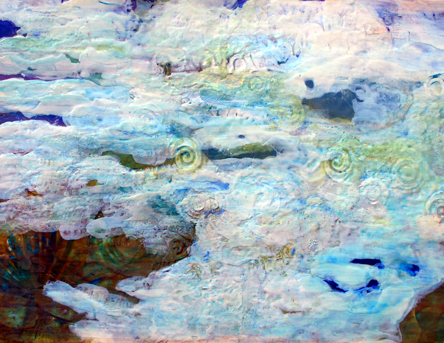 Introduction to Encaustic - Hot wax and hot color with Karen Mobley