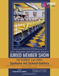 2021 Spokane Watercolor Society Juried Member Show